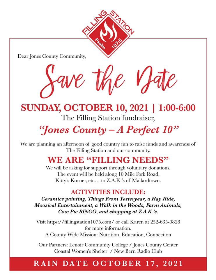 Save the Date FS Fundraiser